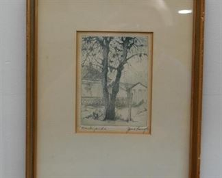 Framed Artwork, Prints & Etchings