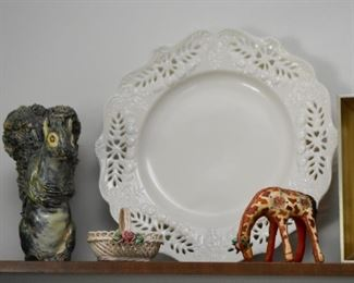 Figurines, China Plate, Miniatures
