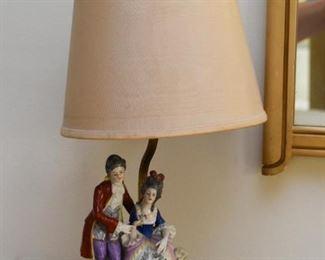 Figural Porcelain Table Lamp