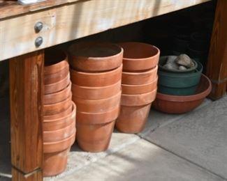 Terra Cotta Planters & Flower Pots
