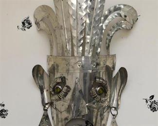 Metal Mask Wall Hanging
