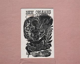Folio of Prints by James Flora (New Orleans)