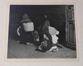Unframed Black & White Art Photo / Photograph