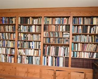 A Sampling of the Huge Collection of Books