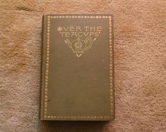Antique Book - Over the Teacups by Oliver Wendell Holmes