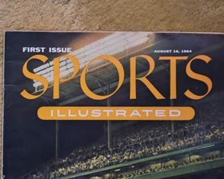 Sports Illustrated Magazine, First Edition, 1954