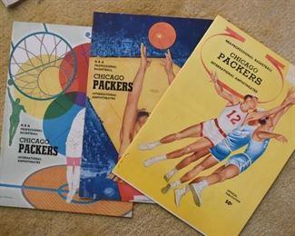 Sports Memorabilia - Chicago Packers Programs