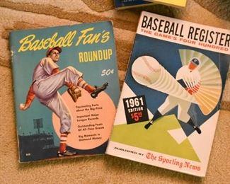 Vintage Baseball Fan's Roundup Magazine, 1961 Baseball Register