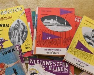 Vintage College Football Programs / Magazines (Northwestern University & More)