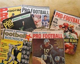 Vintage Football Magazines