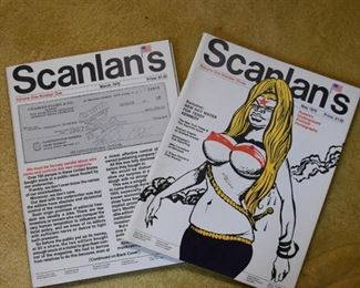 Vintage Scanlan's Magazines