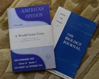 American Opinion & The Biology Journal (Vintage)