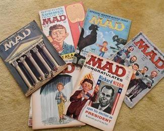 Vintage MAD Magazines