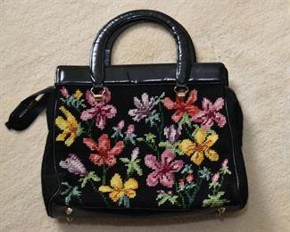 Needlepoint Purse / Handbag