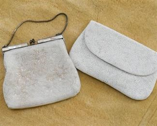 Vintage Beaded Evening Bags / Clutches / Handbags