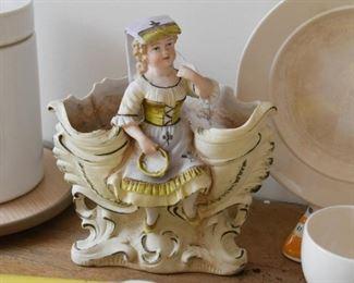 Porcelain Figural Planter