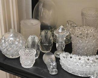 Crystal & Glassware - Vases, Dishes, Bowls, Jars, Etc.
