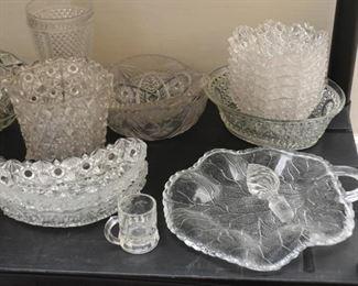 Crystal & Glassware - Vases, Dishes, Bowls, Platters, Etc.