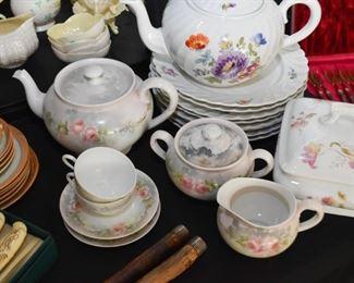 Teapots & Teacups, Creamer & Sugar
