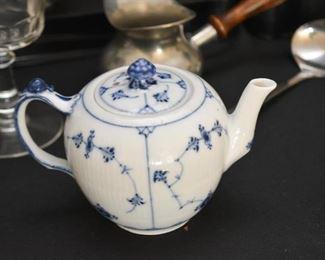 Blue & White Mini Teapot