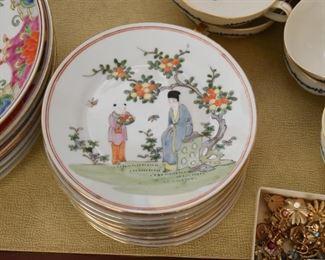 Chinese Porcelain Salad / Dessert Plates