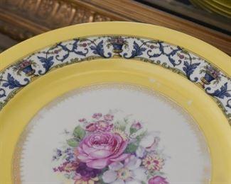 Bavarian China Dinner Plates