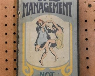 Vintage Wall Sign / Plaque