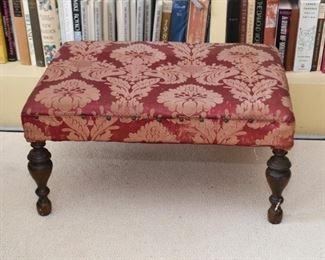 Upholstered Ottoman / Footstool