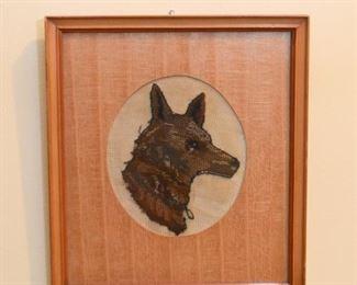 Framed Artwork - Wolf