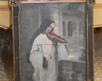 Framed Artwork / Prints - Religious / Nun