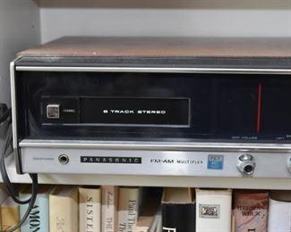 Panasonic AM/FM 8 Track Stereo