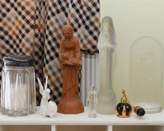 Vanity Items, Religious Statues, Perfume Atomizer
