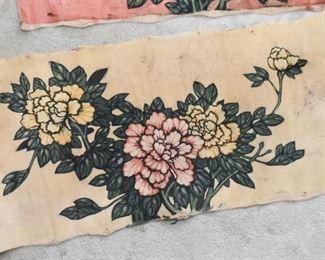 Batik Fabric Artwork