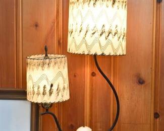 Vintage Double Table Lamp