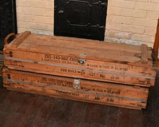 Ammunition Crates