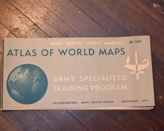 Atlas of World Maps - Army Training Program