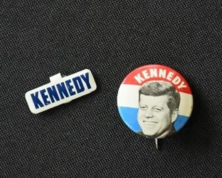 JFK Kennedy Political Pins