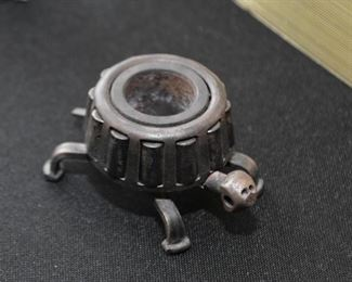 Assemblage Metal Art Turtle Figurine