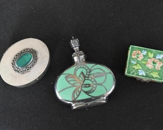 Trinket Boxes, Pill Boxes, Snuff Bottle