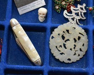 Pocket Knife, Costume Jewelry
