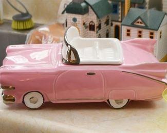 Pink Cadillac Cookie Jar