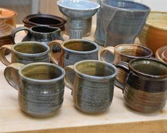 Studio Pottery - Coffee Mugs