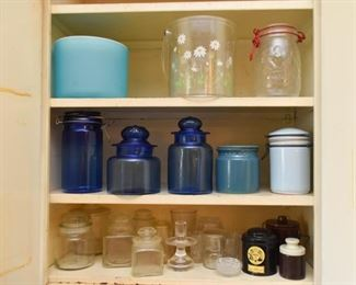 Glass Canisters & Jars