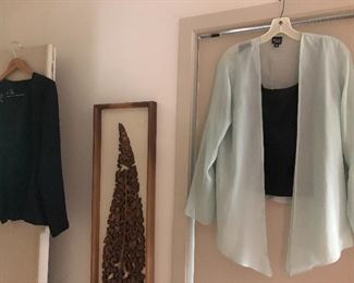 Eileen Fisher clothing and other designers too - M to L sizing