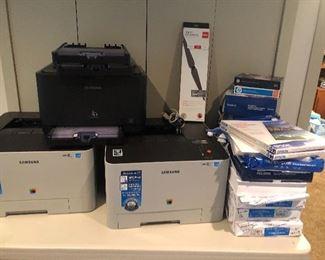 Printers and printer paper