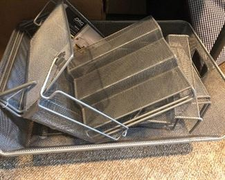 Office supplies - trays and dividers