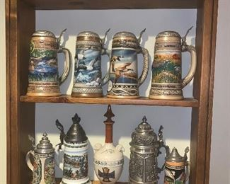 Steins including Ducks Unlimited first and second editions