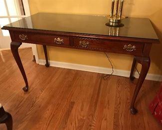 Stickley Queen Anne Desk with chair