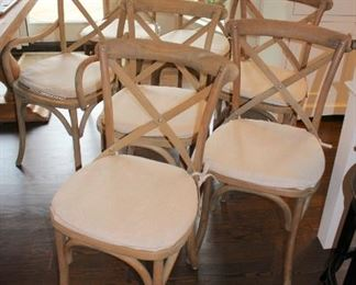 Restoration Hardware Table and 6 Chairs