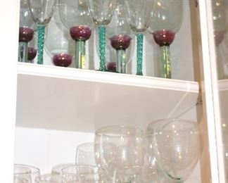 Assorted Stemware and Glasses